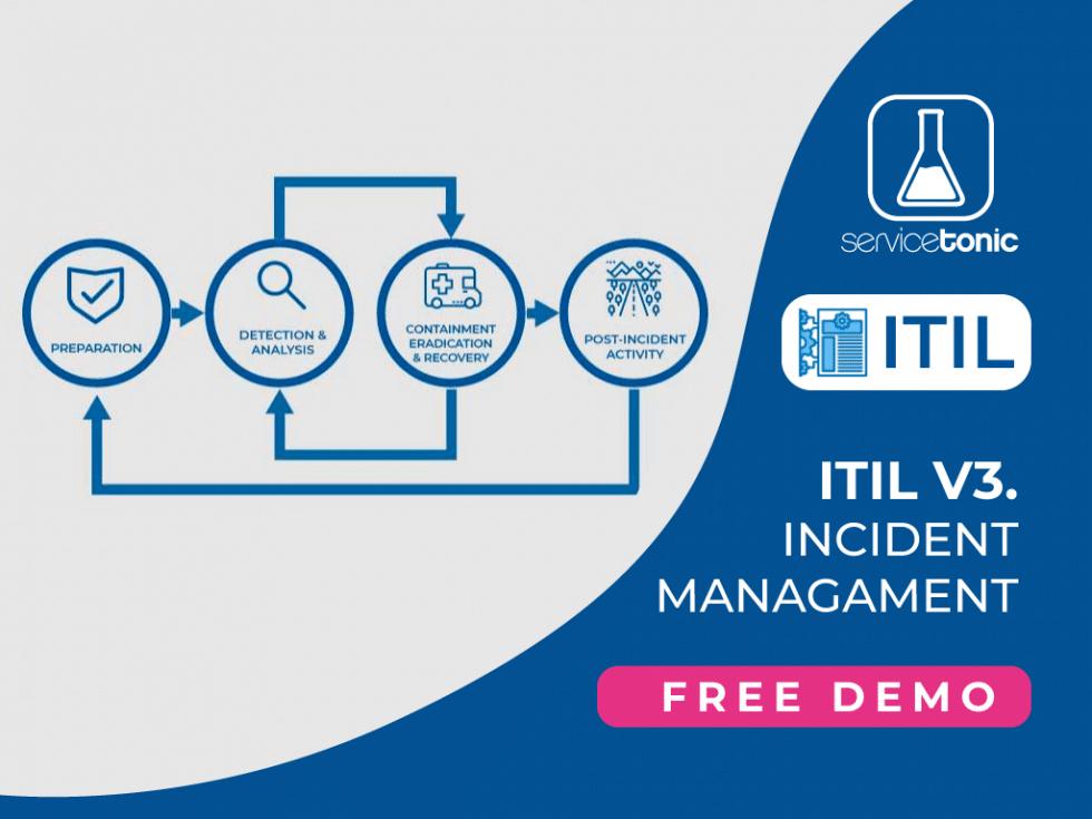 ServiceTonic ITIL incident management