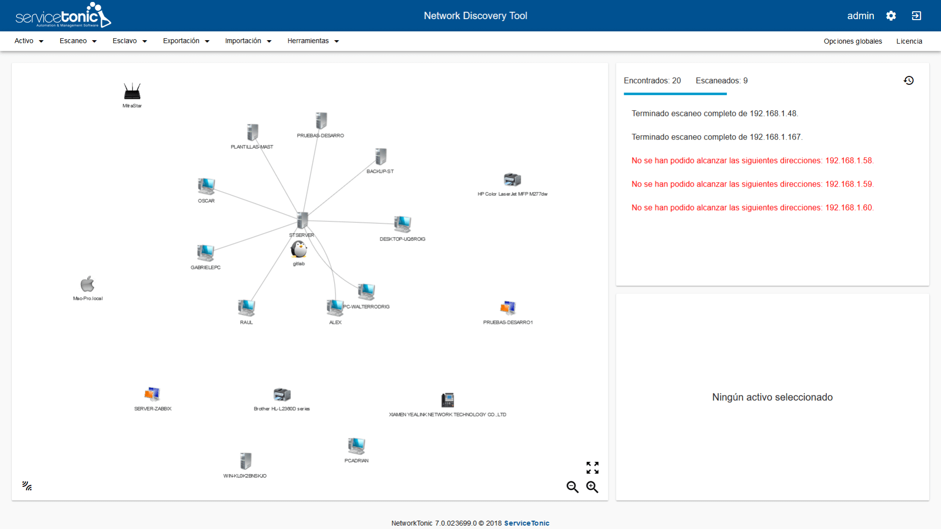 Networktonic - Network Devices Scanning