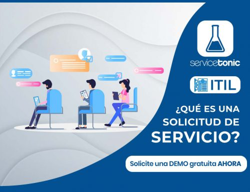¿Qué es una solicitud de servicio?