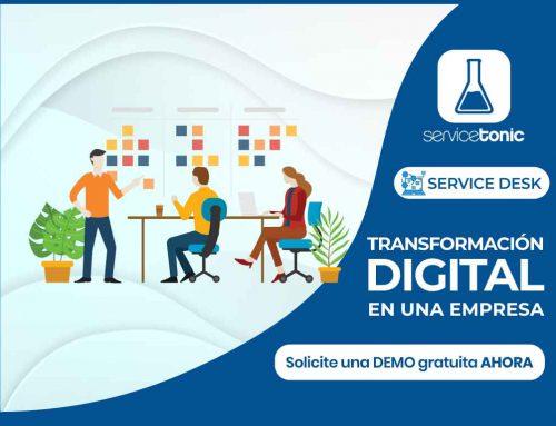 Transformación digital en una empresa