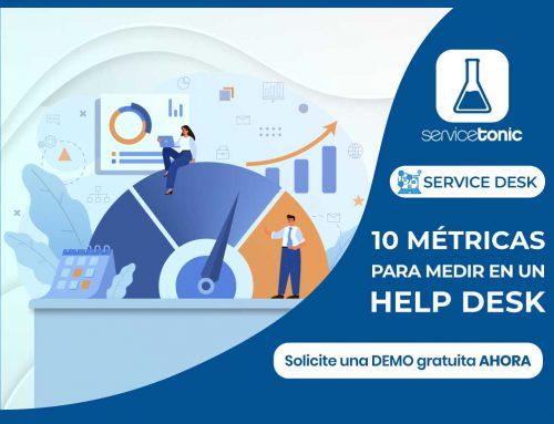 10 métricas para medir en un software de help desk